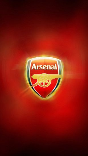 Galaxy s4 wallpaper with FC Arsenal Logo 1080x1920