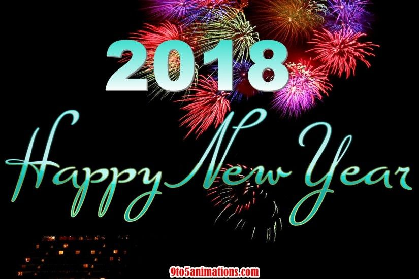 2018 happy new year high quality wallpaper