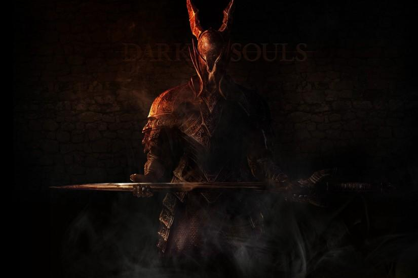 Preview wallpaper dark souls, knight, undead, weapons 2048x1152