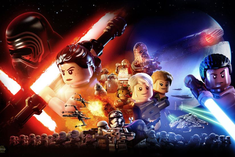 Landscape · Vertical. Download the LEGO Star Wars: The Force Awakens Video  Game - Standard Edition Wallpaper