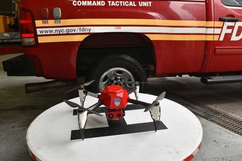 FDNY Deploys Drone to Battle 4-Alarm Blaze in The Bronx
