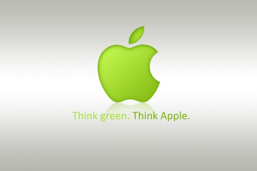 Green background apple mac commercial wallpaper ground back wallpapers  colors