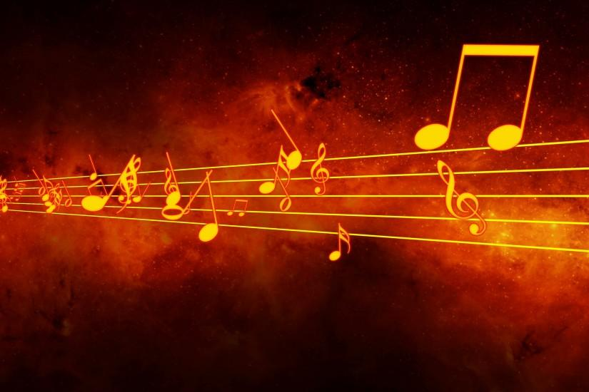 full size music notes background 3840x2160 iphone