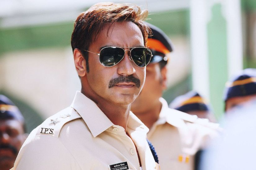 Ajay Devgan added a statement piece to his role of a policeman in #Singham  with
