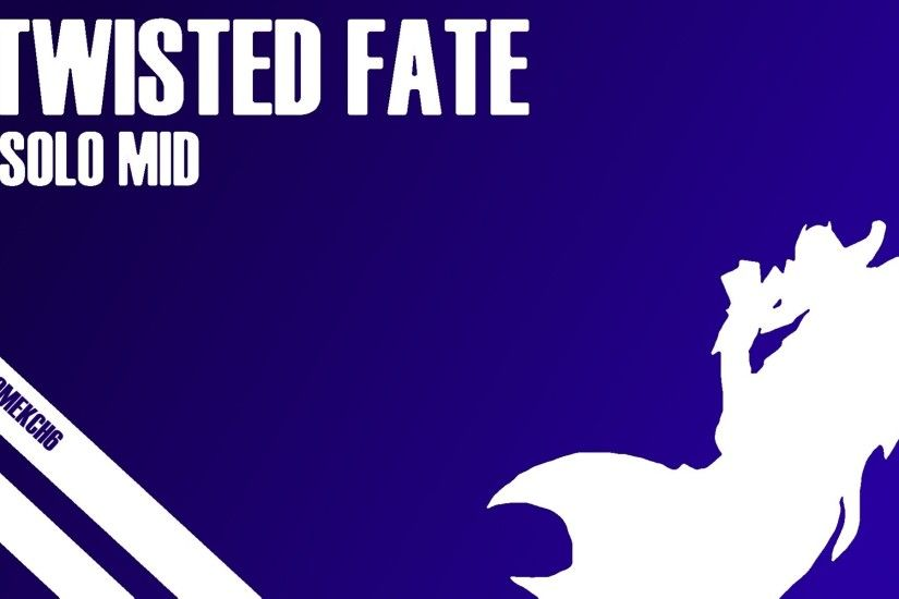 ... Twisted Fate - Mid Wallpaper by tomekch6