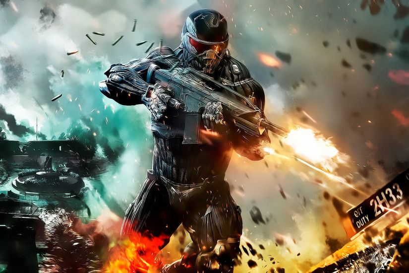 97 Crysis 2 HD Wallpapers | Backgrounds - Wallpaper Abyss