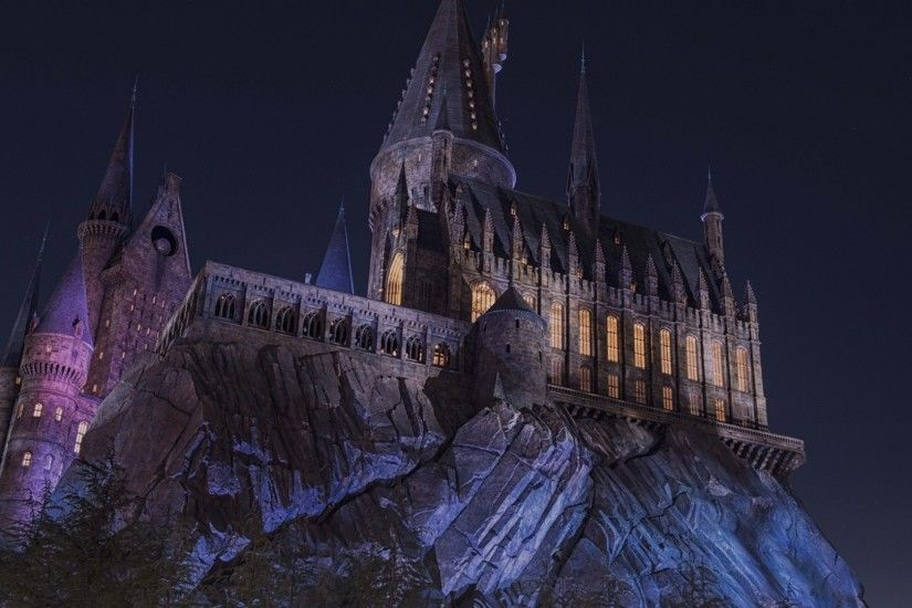 ... Castle Night Wallpaper Hogwarts by dave-daring 1920x1200 1920x1080 ...