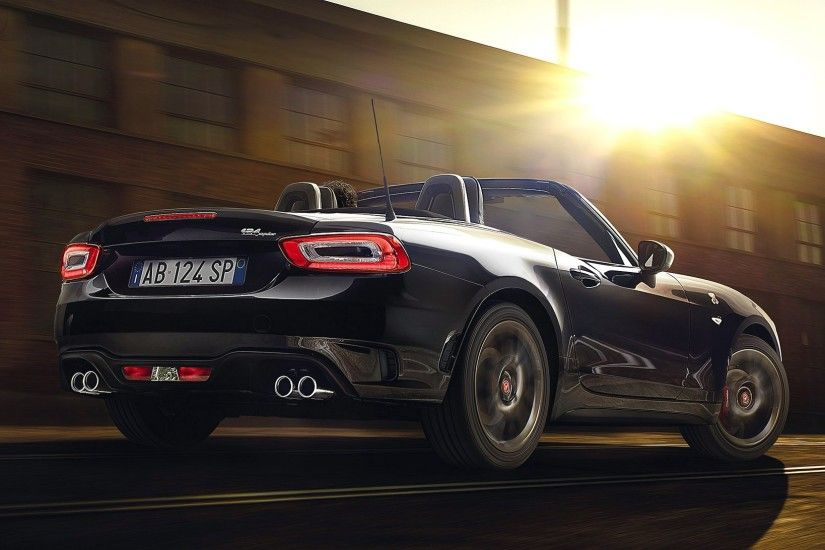 2017 Fiat Abarth 124 Spider Scorpione V3 Hd Car Wallpaper