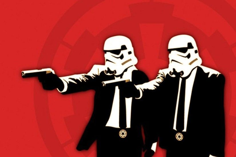 Red stormtroopers Pulp Fiction wallpaper | 1920x1200 | 253546 | WallpaperUP