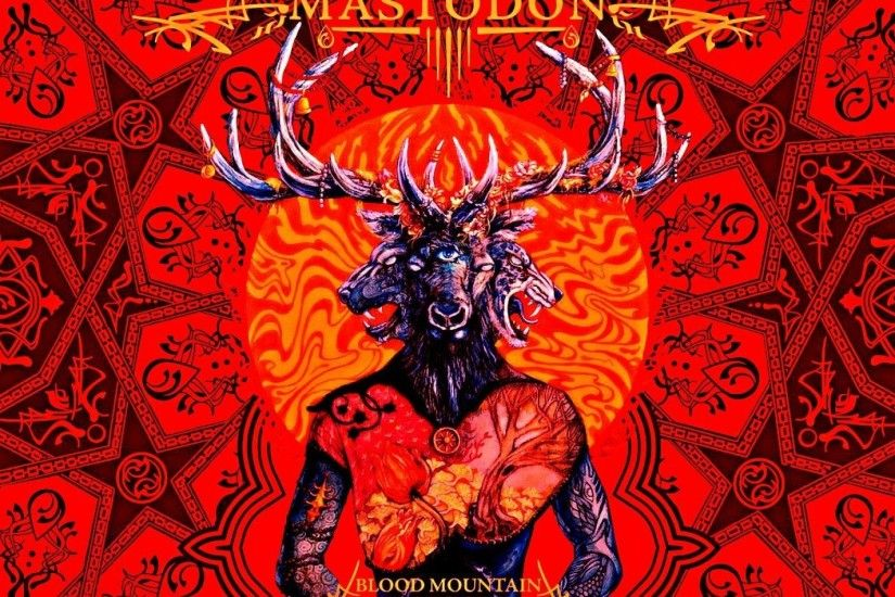MASTODON sludge metal progressive heavy fantasy dark psychedelic wallpaper