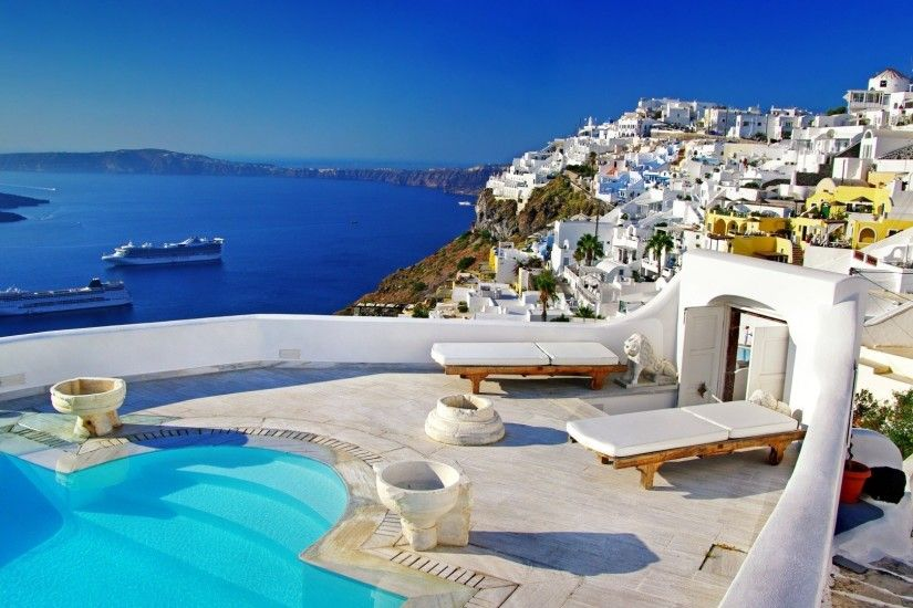 Greece Widescreen Wallpapers Images