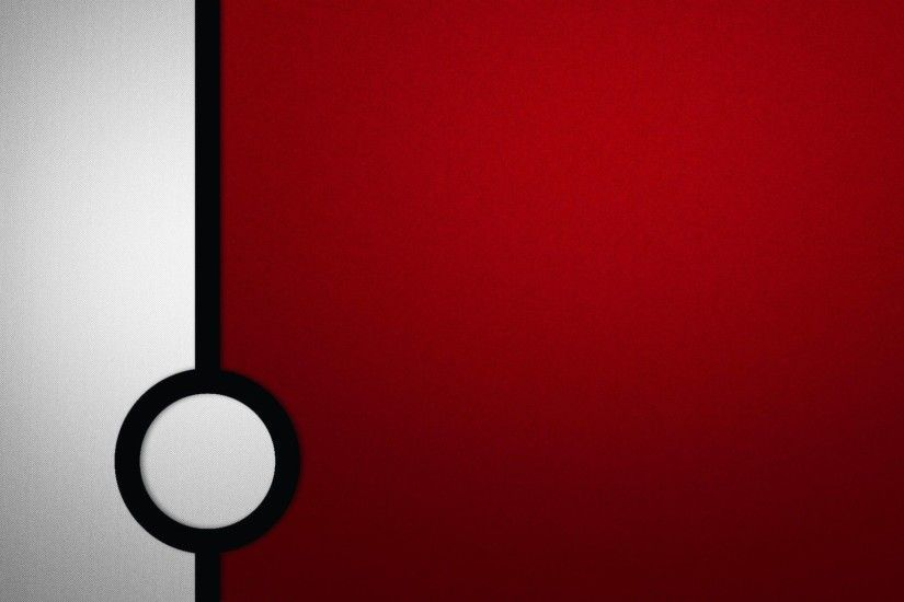 pokemon, dark, red, white, circles, textures, Pokemon Simple . ...