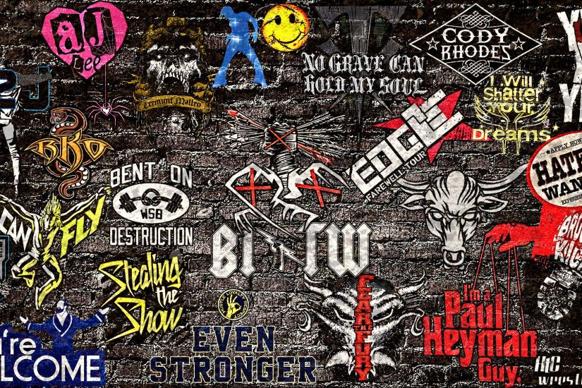 WWE Sticker 2013