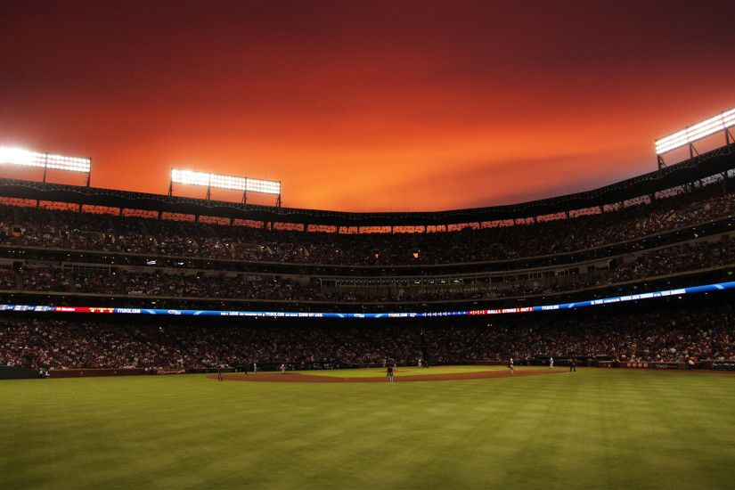 ... Baseball Stadium Full HD Wallpaper.