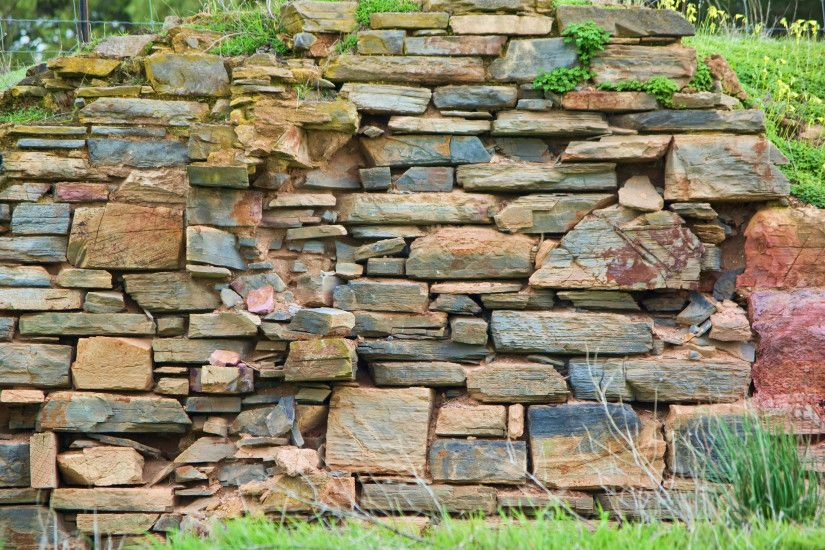 Another old stone brick wall background