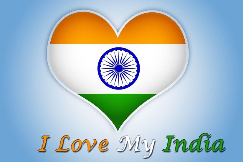 I Love My India HD Wallpaper - New HD Wallpapers