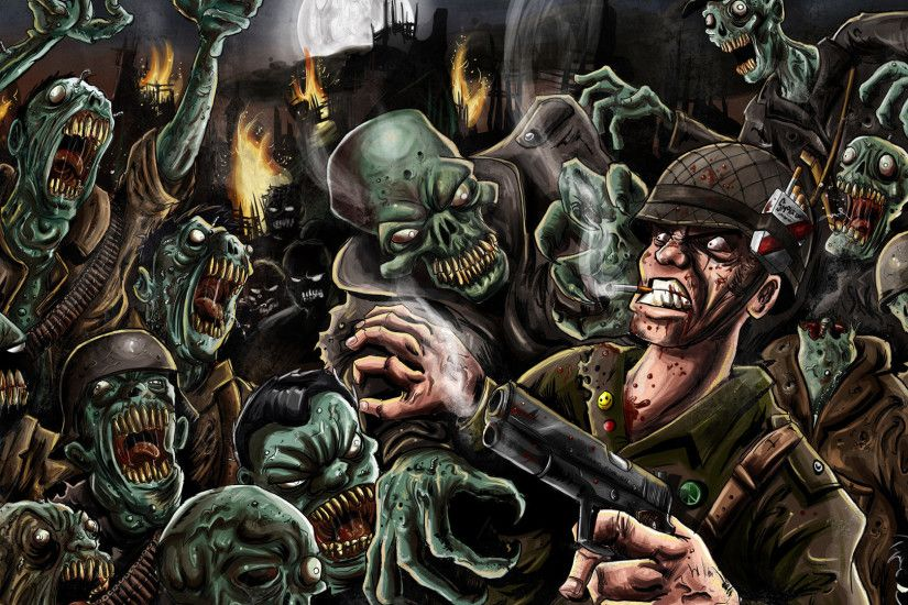 Zombies Wallpaper 1920x1080 Zombie Wallpaper 1920x...