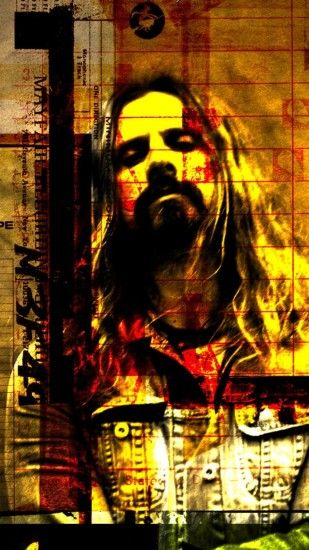 1080x1920 Wallpaper rob zombie, graphics, soloist, name, font