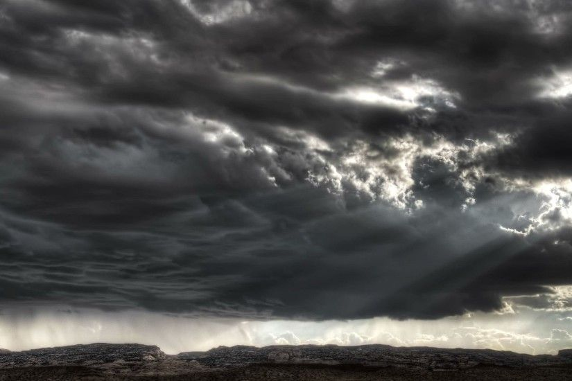 Storm Tag - Sky Storm Rain Clouds Weather Nature Nice Wallpapers for HD 16:9