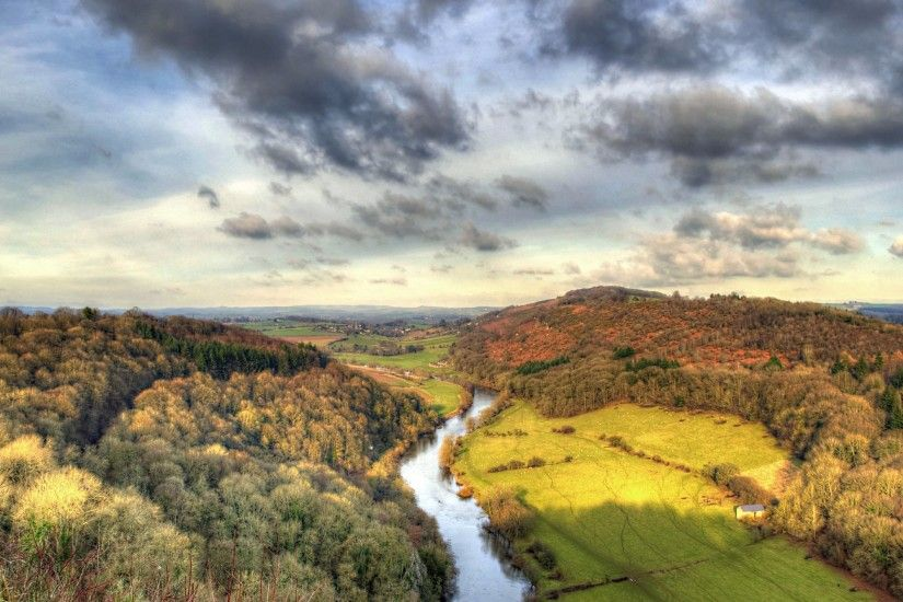 The 6th HD wallpaper with landscape took in Symonds Yat Rock, British