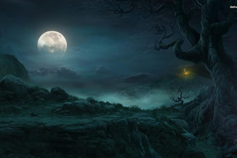 top spooky background 1920x1200