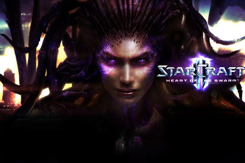 Video Game - StarCraft II: Heart of the Swarm Sarah Kerrigan Wallpaper