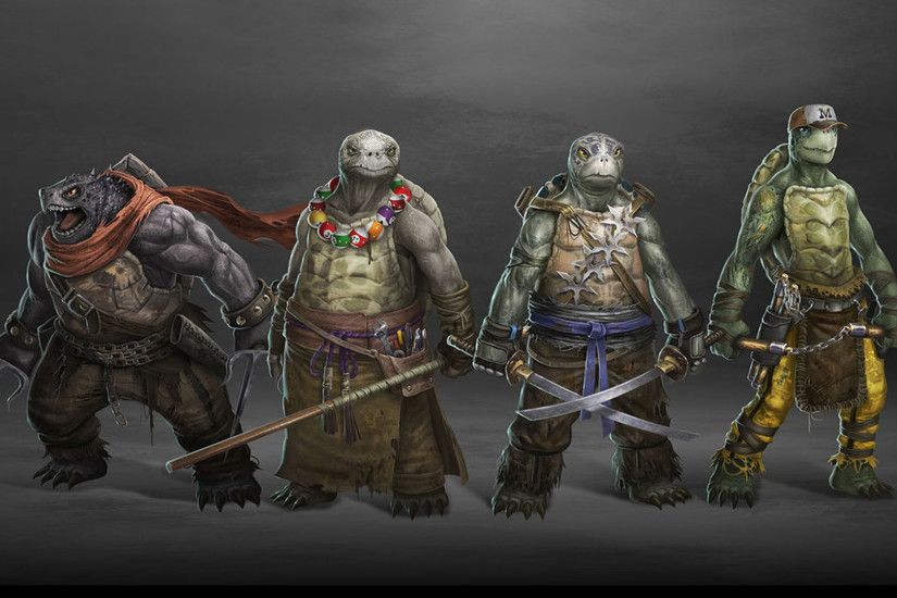 TMNT Wallpaper Images HD Cool.