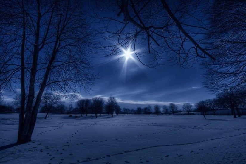 Free Winter Night Wallpaper High Quality As Wallpaper HD .