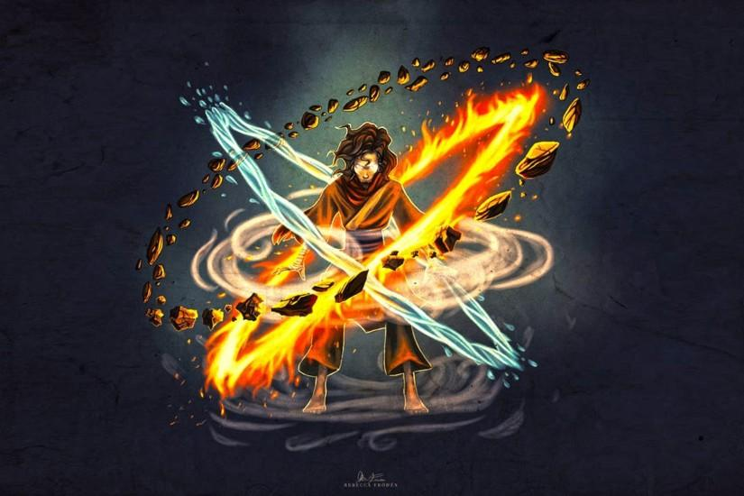 Avatar Wan The Legend Of Korra Wallpaper