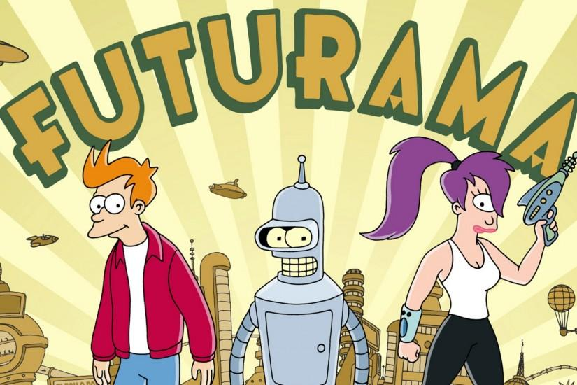 futurama wallpaper 1920x1080 for pc