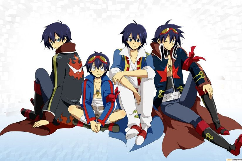 Beautiful HD Gurren Lagann Wallpaper