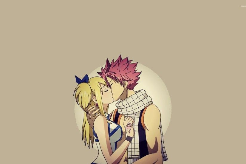 Lucy and Natsu - Fairy Tail wallpaper