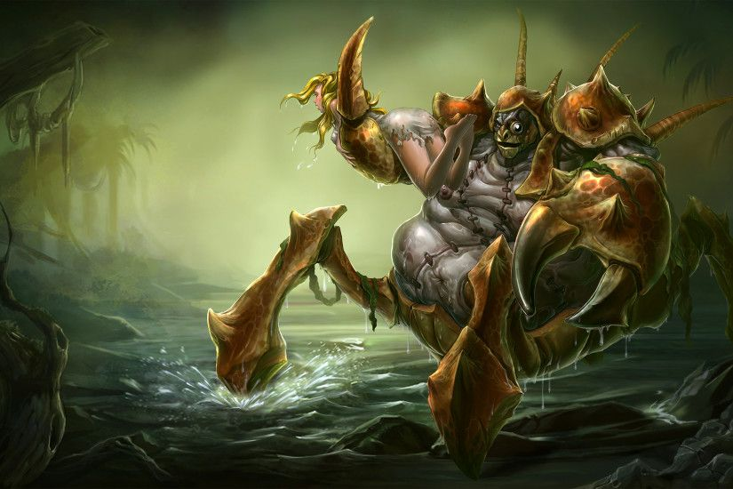 Giant Enemy Crabgot Splash Art League of Legends Artwork Wallpaper lol