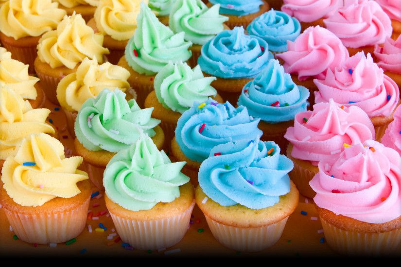 ... Image Gallery of Cupcakes Wallpaper Background ...