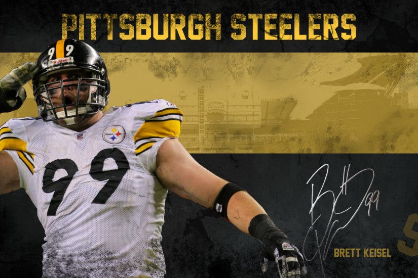 Pittsburgh Steelers images Brett Keisel Wallpaper HD wallpaper and  background photos