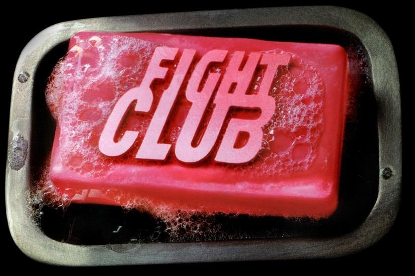 Preview wallpaper fight club, soap, text, red 1920x1080