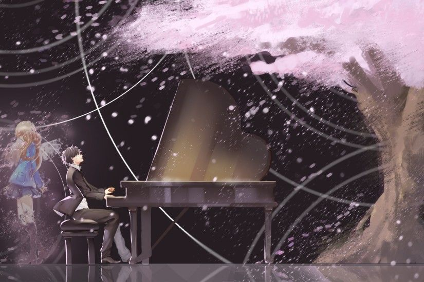 836 Your Lie In April Hd Wallpapers | Backgrounds – Wallpaper Abyss inside  Shigatsu Wa Kimi