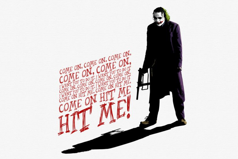 Preview wallpaper heath ledger, joker, the dark knight 1920x1080
