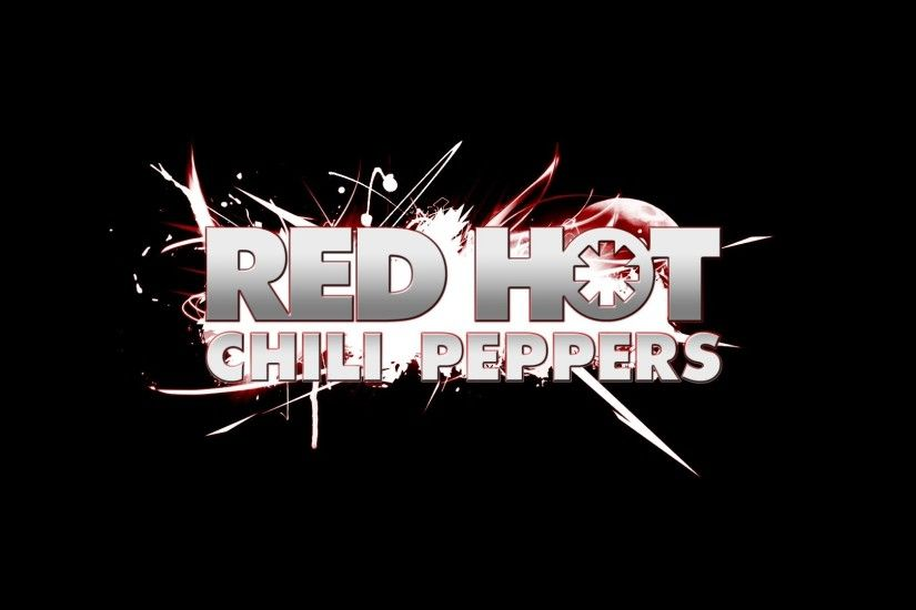 1920x1080 Wallpaper red hot chili peppers, sign, font, sparks, background