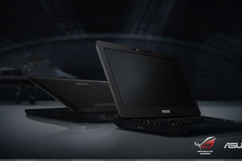 "You are viewing wallpaper titled ""Asus Notebooks – Republic Of Gamers"" ..."