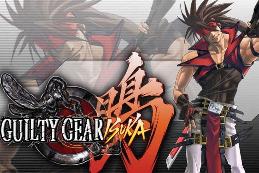 Guilty Gear Isuka Sol Badguy Wallpaper