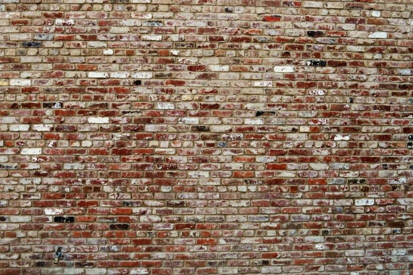 Wall Background with Small Bricks
