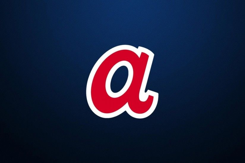Download Wallpaper · Back. blue retro atlanta braves ...