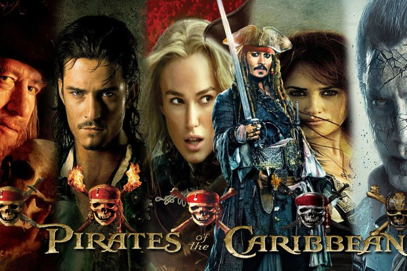 Pirates of the Caribbean 1-5 Wallpaper by The-Dark-Mamba-995
