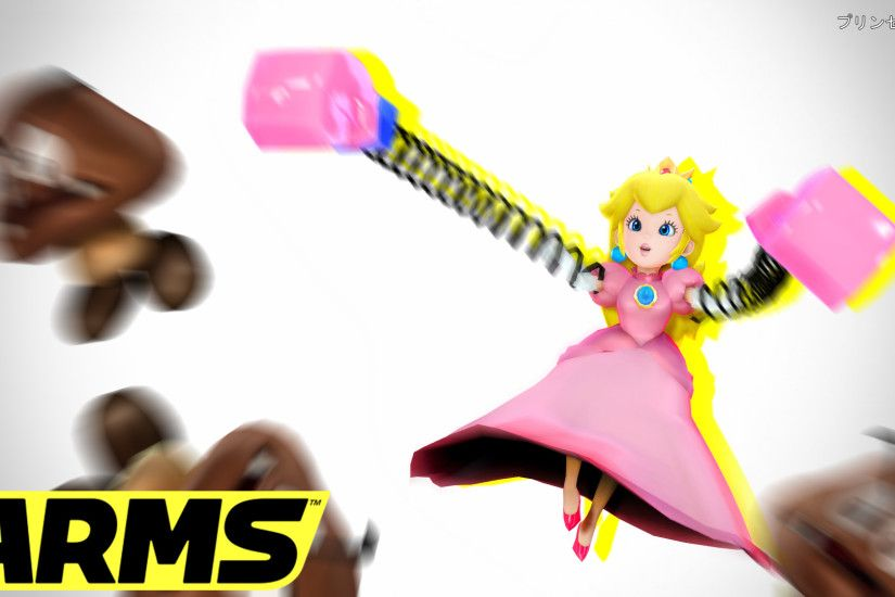 ... MMD Nintendo:Princess Peach Joins To ARMS by AmaneHatsura