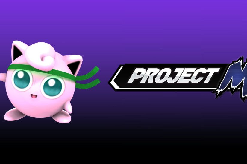 ... Project M Wallpaper - HBox Jigglypuff by TheWolfGalaxy