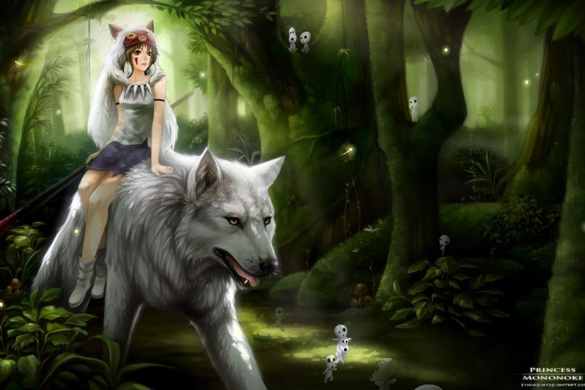 Anime Princess Princess Mononoke Warrior · HD Wallpaper | Background  ID:168323