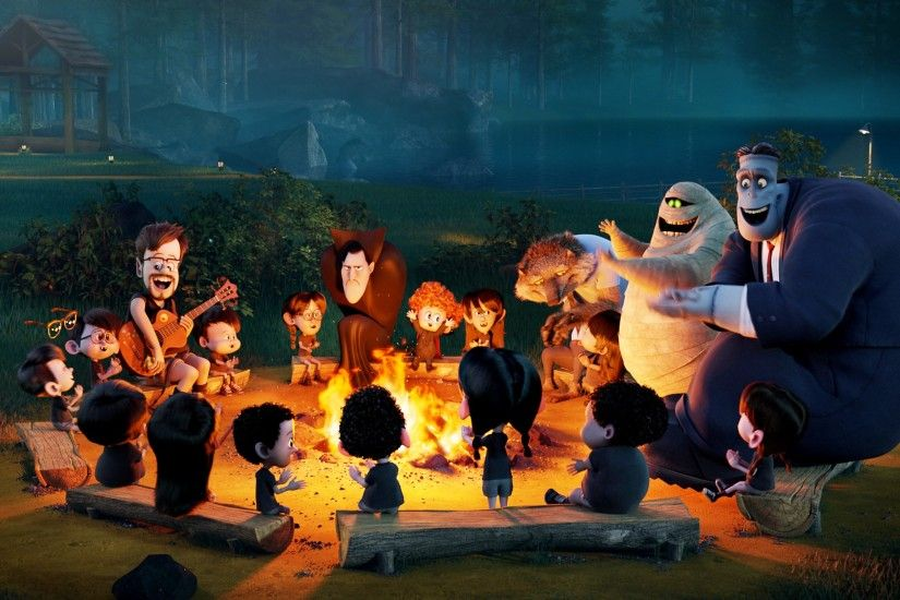 3000x1621 px hotel transylvania 2 image - Full HD Backgrounds by Welsh Mason