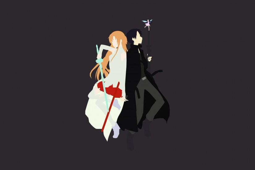Request]Looking for Minimalistic SAO wallpapers : swordartonline
