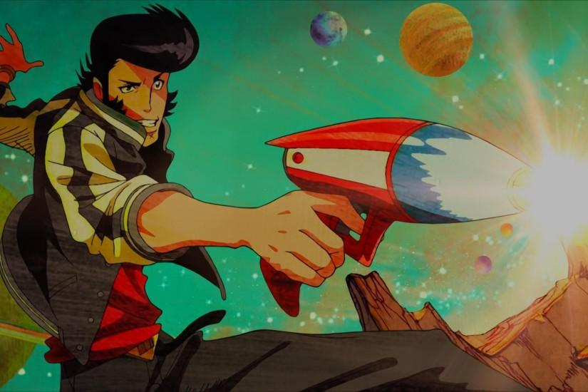Some Space Dandy Screenshots/Wallpaper in 1080p fron S1, baby!